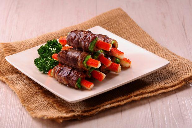 Beef Rolls in Double Deluxe Soy Sauce