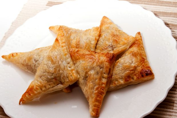 Barbecued Pork Puff Pastry