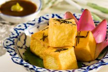 Fried Bean Curd in Double Deluxe Soy Sauce with Wasabi