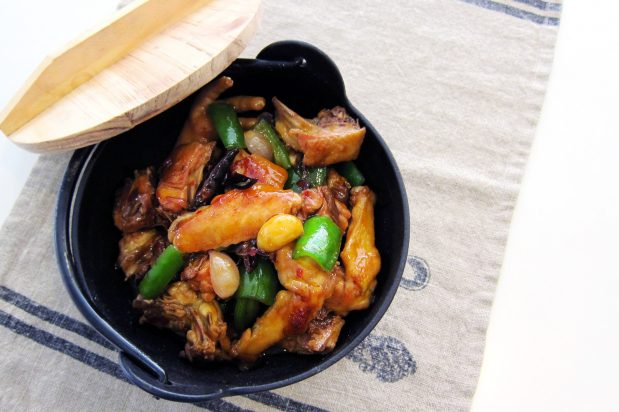 Hot and Spicy Fried Chicken Casserole