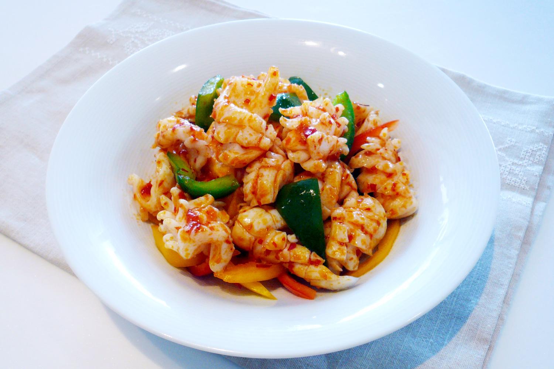 Stir Fried Cuttlefish with Chilli Garlic Sauce | Asian ...