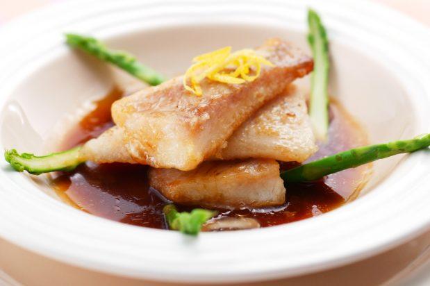 Fried Black Cod in XO Mushroom Sauce