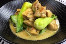 Stir-Fried Chicken & Vegetables with Green Curry