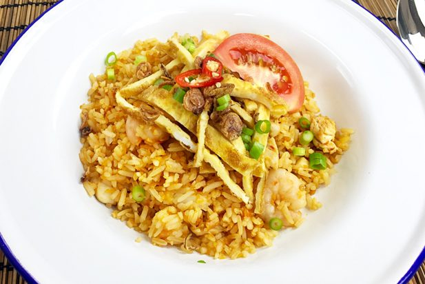 Malaysian Fried Rice (Nasi Goreng)