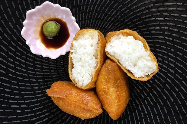 Deep-fried Bean Curd Pockets (Inari Sushi)