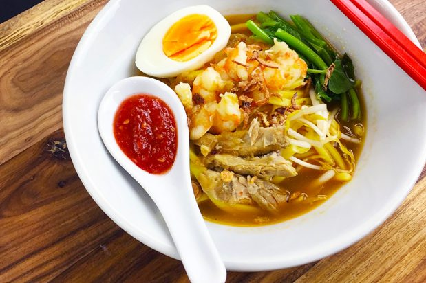 Prawn Noodle (Mee) Soup