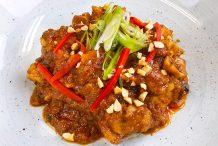 Chicken in Satay Sauce