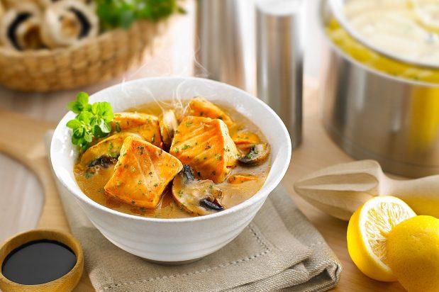 Lemon Salmon Stew