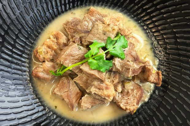 White Beef Curry