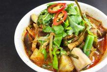 Light Red Pork Curry