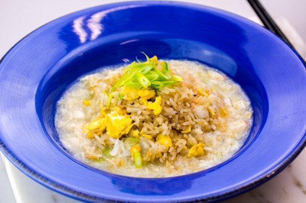 Crab Fried Rice (Kani Ankake)