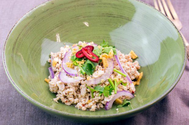 Thai Minced Chicken Salad