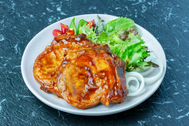 Shortcut Oriental Pork Chop