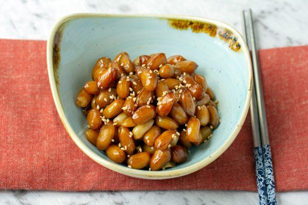 Soy Braised Peanuts (Ddangkong Jorim)