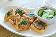 Thai Pork on Toast (Khanom Pang Naa Moo)
