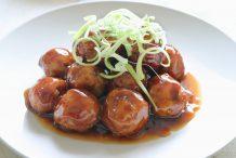 Japanese Pork Meatballs (Niku-Dango)