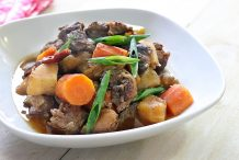 Slow Cook Braised Beef Shank (Sataejjim)