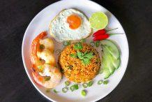 Tom Yum Fried Rice (Khao Pad Tom Yum)