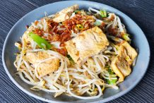 Stir Fried Beansprouts with Tofu