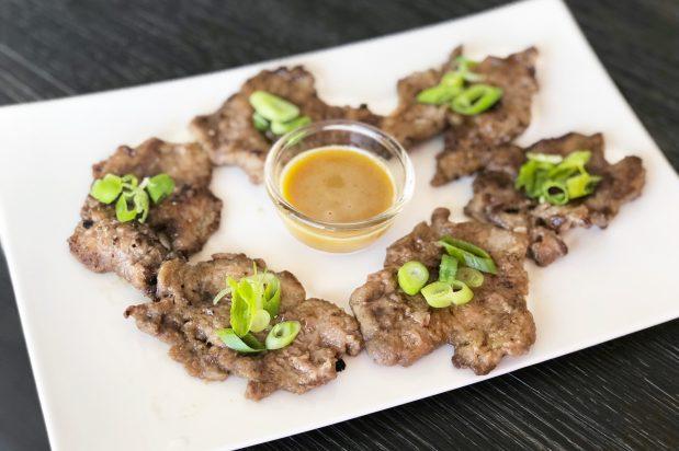 Pan Fried Battered Beef (Yukjeon)