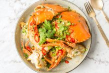 Crab with Tamarind and Chilli (Cua Rang Muoi)