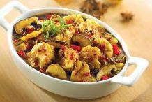 Mushroom Tofu Stew