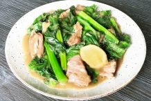Stir Fried Beef with Kai Lan
