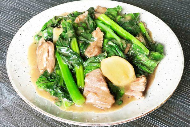 Stir Fried Beef with Kai Lan