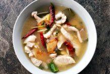 Hot and Sour Fish Soup (Tom Klong Pla)
