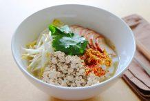 Pork Noodle Soup (Kuay Teow Moo)