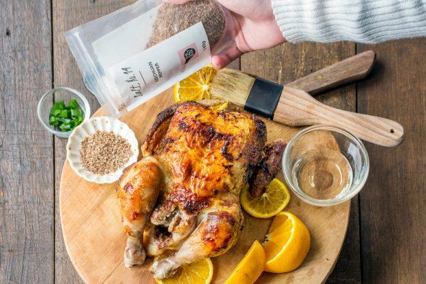 Roast Chicken with Sichuan Peppercorn Salt
