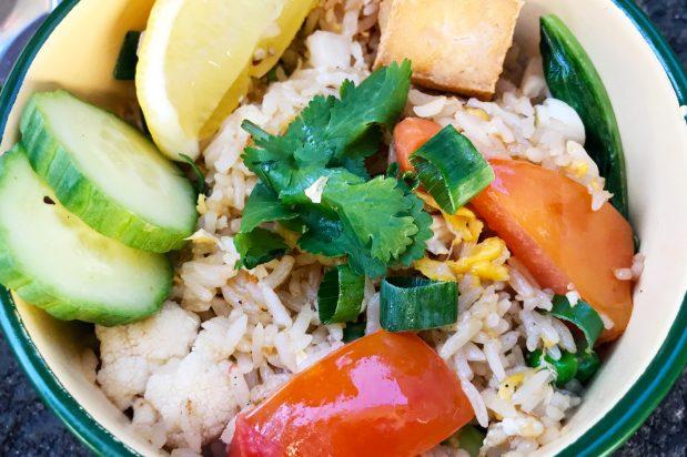 Vegetarian Thai Fried Rice