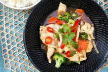 Thai Chilli and Lemongrass Stir Fried Chicken