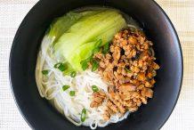 Braised Meat Sauce Noodle Soup