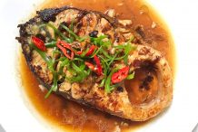Braised Fish Fillet with Soy Bean Paste