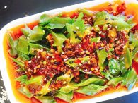 Winged Beans in Homemade Chilli Oil