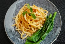 Noodles with Spicy Shallot Sauce