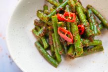 Long Beans in Spicy Shallot Sauce