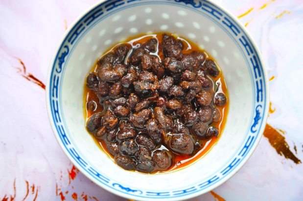 Homemade Sweetened Fermented Black Beans