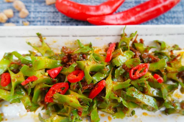 Stir Fried Winged Beans with Homemade XO Sauce