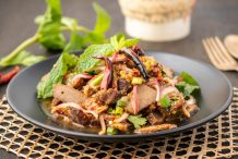 Spicy Thai Pork Salad (Namtok-Moo)