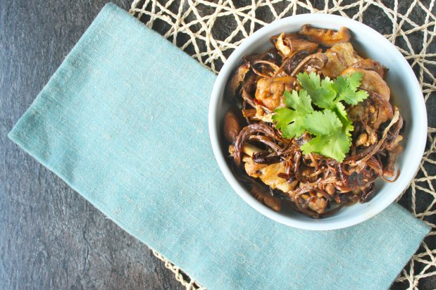 Dongbei-Style Braised Chicken with Mushrooms