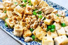 Stir Fried Tofu with Minced Pork