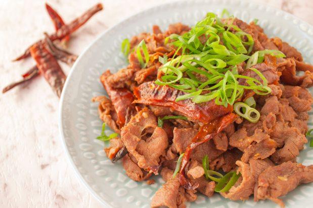 Spicy Sichuan Lamb
