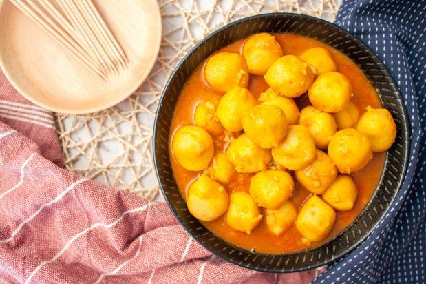 Hong Kong Style Curry Fishballs
