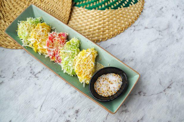 Mung Bean Rice Crepe (Kanom Tua Pab)