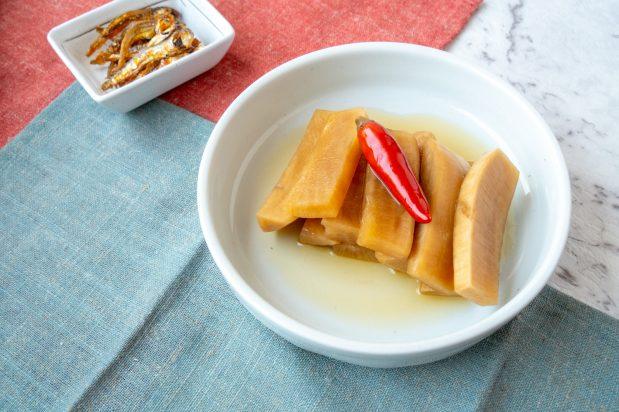 Korean Pickled Radish With Chilli Asian Inspirations