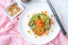 Perilla Kimchi (Kkaennip Kimchi)