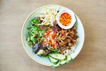 Vietnamese Grilled Pork Noodle Salad (Bun Thit Nuong)