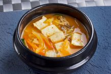 Korean Soybean Paste Hotpot (Doenjang Jjigae)